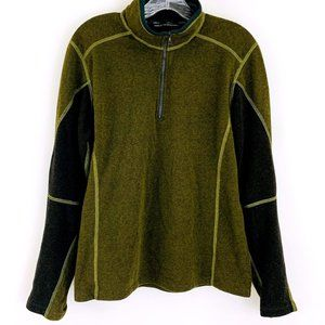 Kuhl Men's Kashmira Revel Fleece 1/4 zip Sweater S